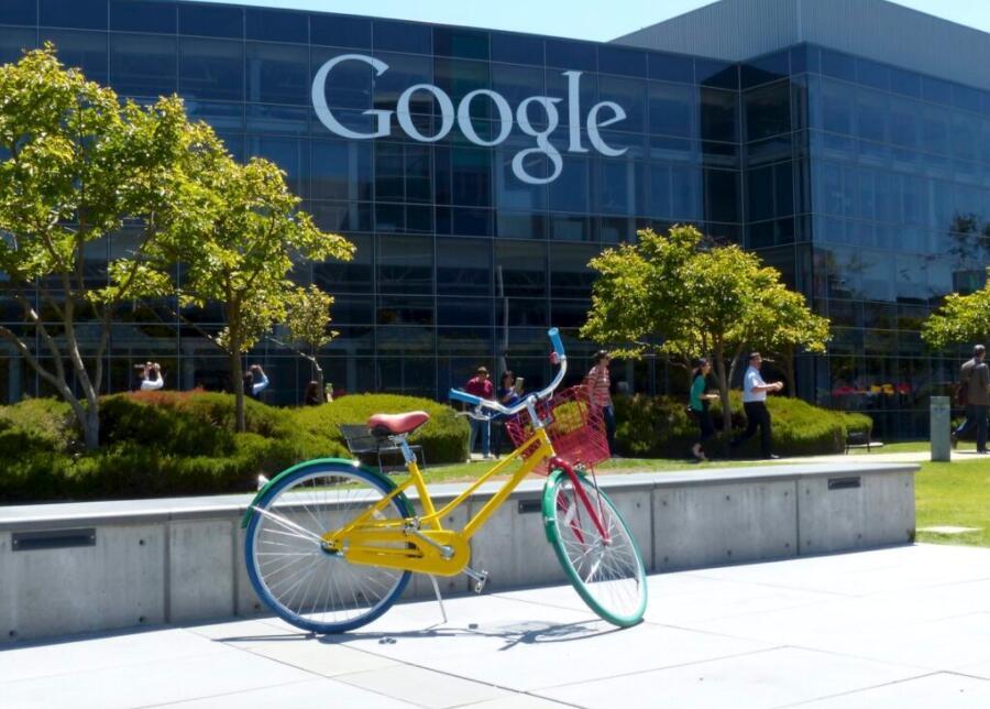 Google headquarters in Palo Alto