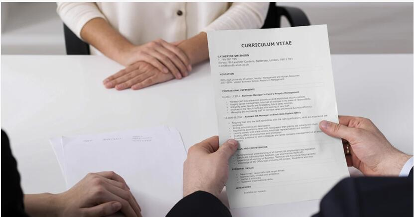 How to make a professional CV