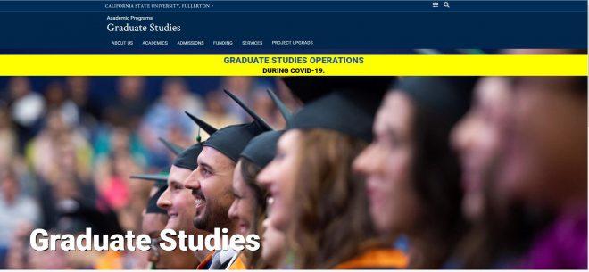 Graduate Studies - Graduate Studies - CSUF