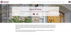 Here is How - Saint Mary's University