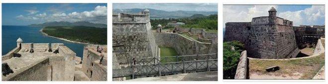 San Pedro de la Roca Castle in Santiago de Cuba